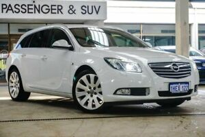 2012 Opel Insignia IN Select Sports Tourer White Sports Automatic Wagon