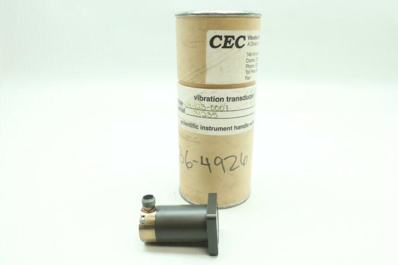Bell & Howell Cec 09384/4-123-0001 Vibration Velocity Transducer