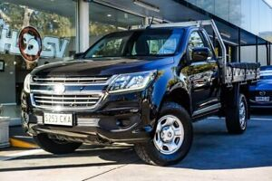 2016 Holden Colorado RG MY17 LS 4x2 Black 6 Speed Sports Automatic Cab Chassis