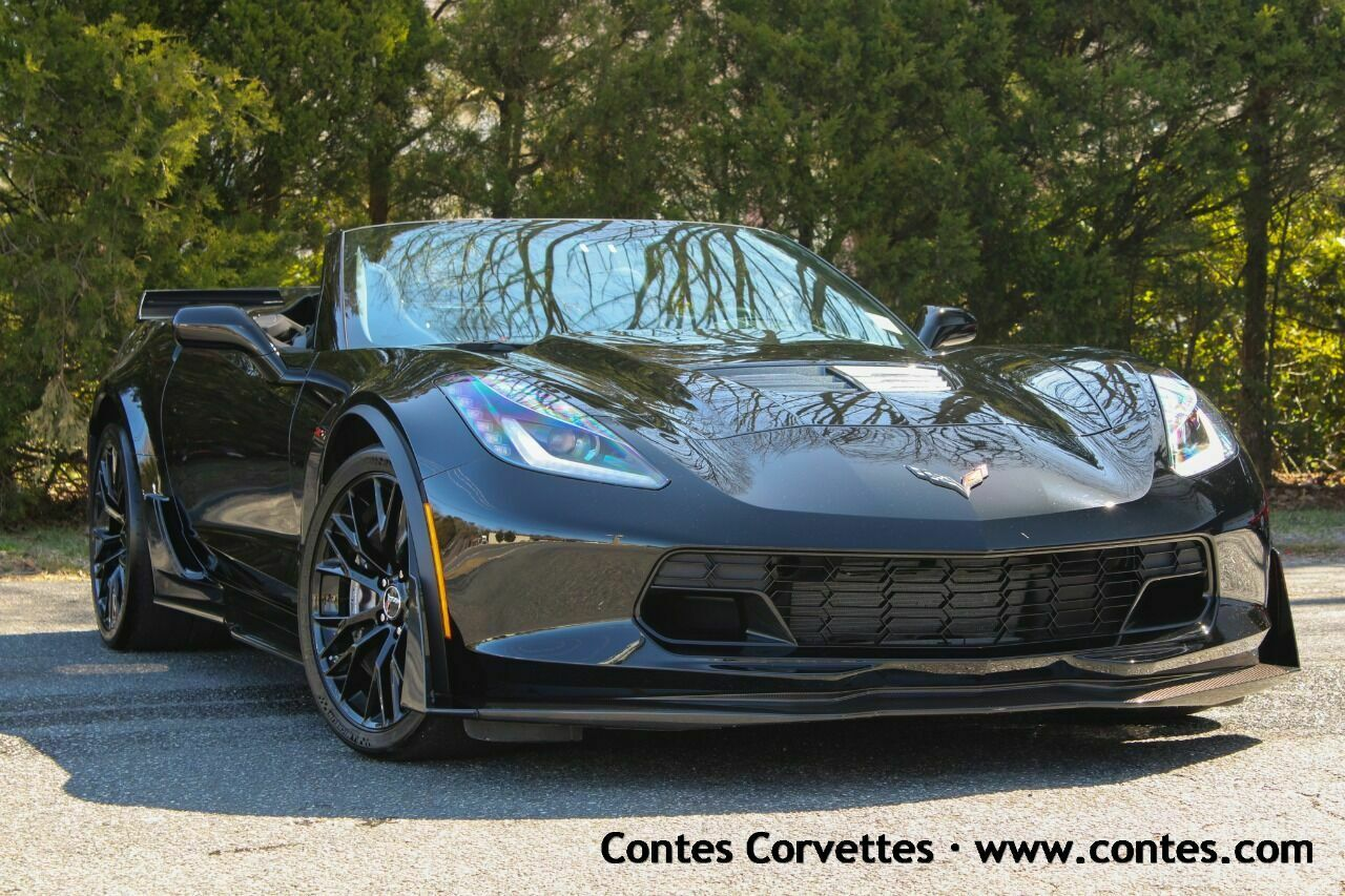 Black Chevrolet Corvette with 3000 Miles available now!