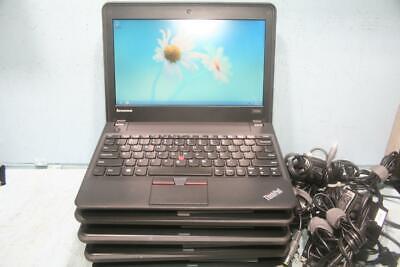 "Lot of 5~ Lenovo ThinkPad X131e 11.6"" Laptop  AMD E-300,1.3GHz 4GB RAM 320GB HDD"