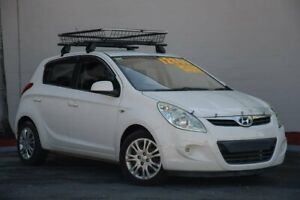 2011 Hyundai i20 PB MY12 Active White 4 Speed Automatic Hatchback Kedron Brisbane North East Preview