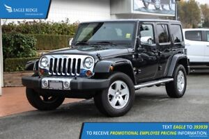 2011 Jeep Wrangler Unlimited Sahara Satellite Radio, Climate...