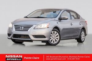 2014 Nissan Sentra S BLUETOOTH / AIR CONDITIONING / LEASE RETURN