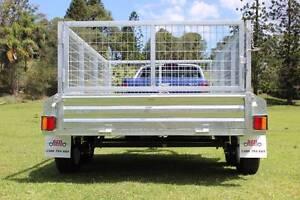 Delivery AU Box Trailer Galvanised 9x5 OZZI New Molendinar Gold Coast City Preview