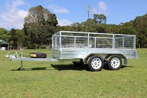 NEW Box Trailer Delivery AU WIDE Galvanised 10x5 Molendinar Gold Coast City Preview