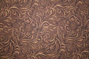 Tooled Leather Fabric Ebay