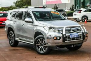 2016 Mitsubishi Pajero Sport QE MY16 GLS Silver, Chrome 8 Speed Sports Automatic Wagon Cannington Canning Area Preview