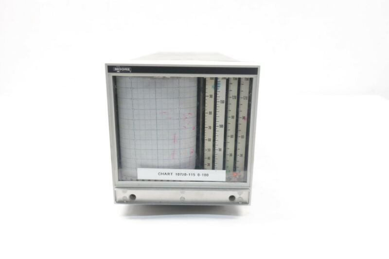 Moore Products 15847-66 Chart Recorder