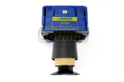 """Prevost Compressed Air Inline Moisture Trap Water Separator Filter 1/2"""" FNPT New"""