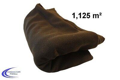 HiFi Bespannstoff Schwarz 150 x 75 cm - Lautsprecher Boxen Abdeckung - Stoff -