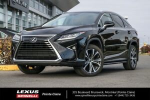 2018 Lexus RX 350 GR LUXE, AWD, NAVIGATION, LEATHER AND ROOF SPE