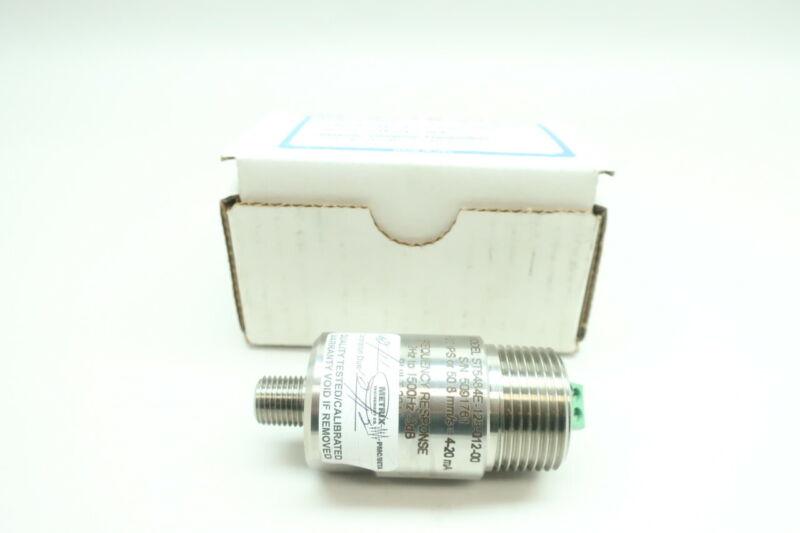 Metrix ST5484E-123-012-00 Seismic Vibration Transmitter 11-30v-dc