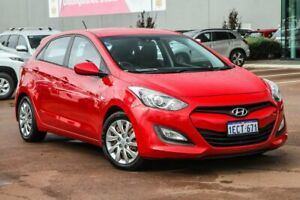 2012 Hyundai i30 GD Active Red 6 Speed Sports Automatic Hatchback Cannington Canning Area Preview