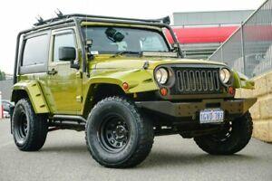 2007 Jeep Wrangler JK Sport Green 6 Speed Manual Softtop