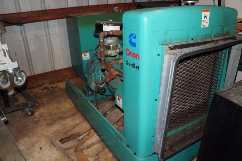Onan GenSet Cummins 45 KW Generator Used only 305 hours!