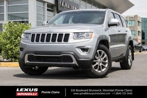 2014 Jeep Grand Cherokee LIMITED NAVIGATION, CUIR ET TOIT 4x4,NA