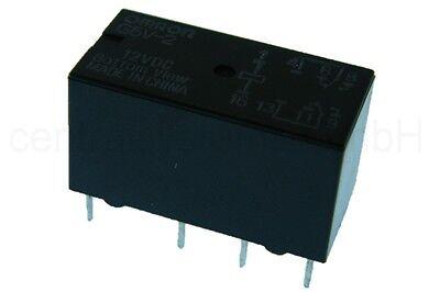 Omron Relais G5V-2 12V DC Print Relais 2 Wechsler - Subminiatur Print Relais