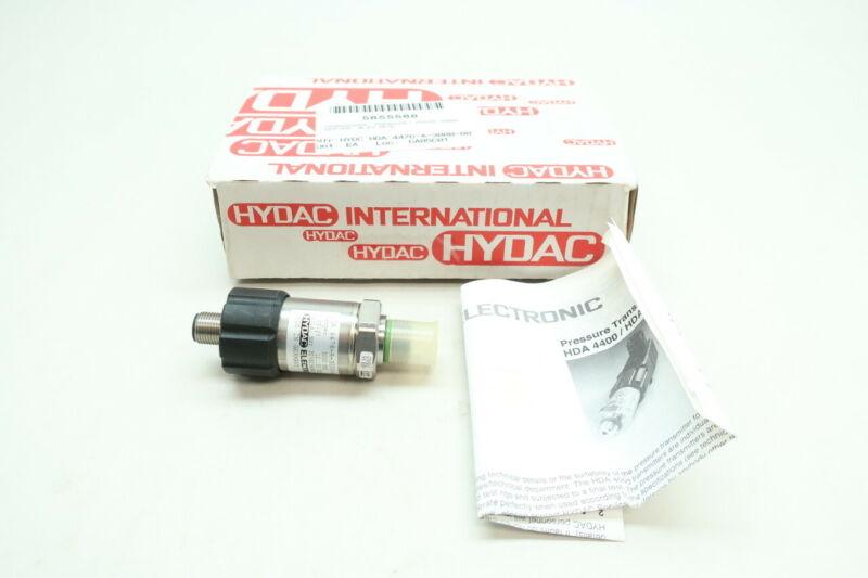 Hydac HDA 4476-A-3000-000 Absolute Pressure Transmitter 3000psi