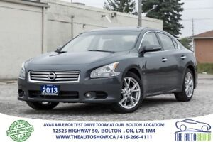 2013 Nissan Maxima 3.5 SV LEATHER SUNROOF CERTIFIED NICE AND CLE