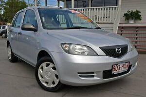 2004 Mazda 2 DY10Y1 Neo Silver 5 Speed Manual Hatchback