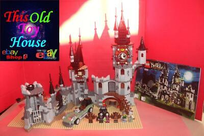 LEGO MONSTER FIGHTERS 9468 VAMPYRE'S CASTLE w INSTRCTNS MINIFIGS no Box 91419