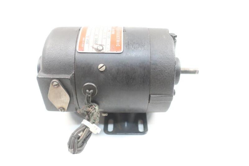 General Electric Ge 5BC29AC26A Dc Motor 1/6hp 1725rpm 125v-dc