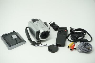 Sony Handycam DCR-SR40 Video Camera Camcorder Silver Very Good Used G040