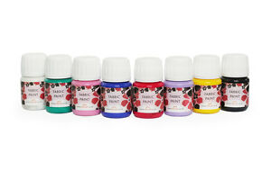 Set-of-8-fabric-paints-x-30ml-bottles-HIGH-QUALITY