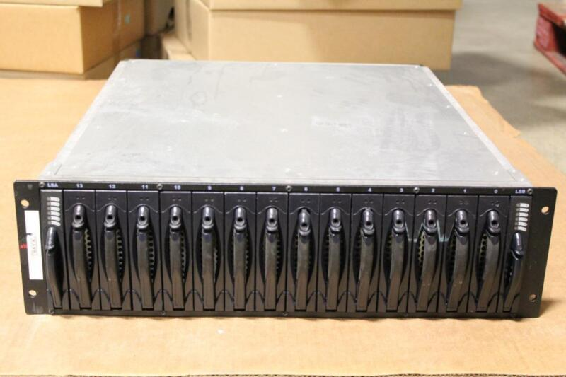 "Xiotech 14 Bay Storage Array 7 x 300GB 3.5"" 10K 6 x 146GB 3.5"" 10K 1 x 146GB 15K"