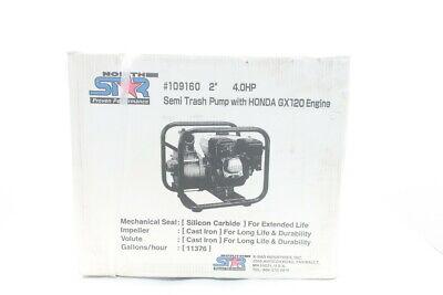 Northstar 109160 Semi-trash Water Pump 2in 11376gph 4hp