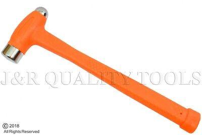 Ball Peen Dead Blow Hammer -  Dual Face Flat & Peen Steel Metal Working 16oz