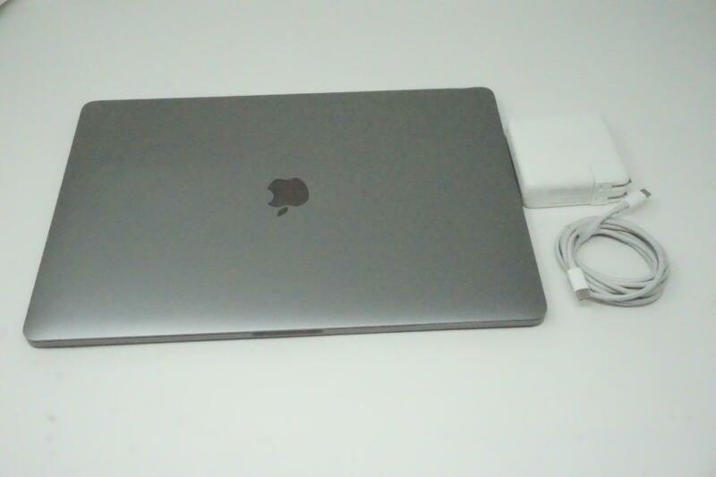 """Apple Macbook Pro Touch Intel i7 2.6GHz 15"""" 512GB 16GB A1990 2018 Used 01MB098"""