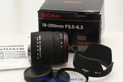 Usado, Canon EOS EF fit 18-200mm Sigma DC AF Zoom Lens DSLR EF-s GOOD CONDITION segunda mano  Embacar hacia Spain