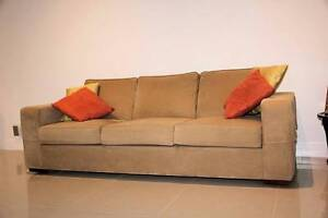 Matching 2 seater and 3 seater Moran Couches with bonus table Kewarra Beach Cairns City Preview