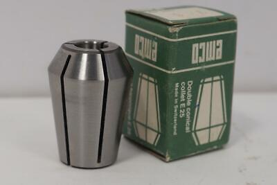 New Emco Schaublin E-25 9.5mm Collet For Emco Maximat Lathe Or Milling Machine