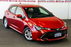 2020 Toyota Corolla ZWE211R Ascent Sport E-CVT Hybrid Volcanic Red 10 Speed Constant Variable Rockingham Rockingham Area Preview
