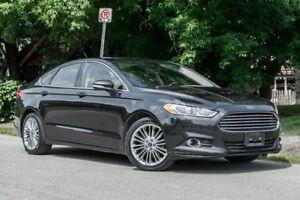 2013 Ford Fusion SE  LEATHER SUNROOF  NAVIGATION  BACKUP CAMERA