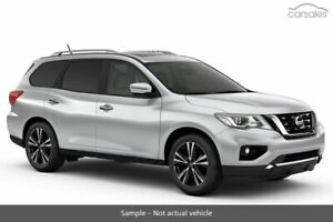 2018 Nissan Pathfinder R52 Series II MY17 Ti X-tronic 4WD Silver 1 Speed Constant Variable Wagon Chatswood Willoughby Area Preview