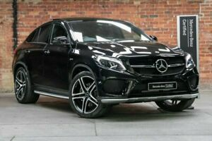 2018 Mercedes-Benz GLE-Class C292 MY808+058 GLE43 AMG Coupe 9G-Tronic 4MATIC Black 9 Speed Mulgrave Monash Area Preview