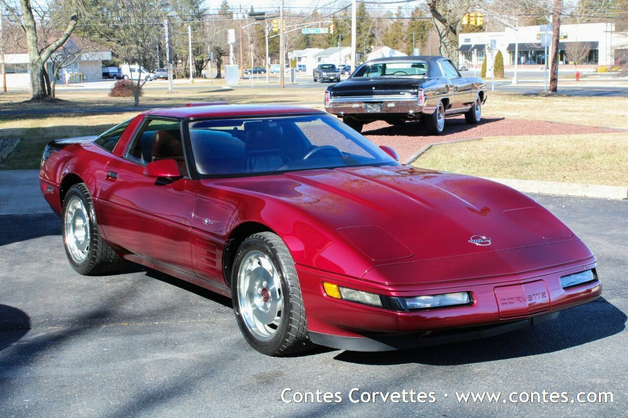 Ruby Red Chevrolet Corvette with 5000 Miles available now!