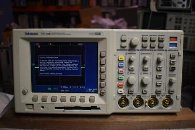Tektronix Tds3014 Dpo Oscilloscope 100 Mhz 1.25 Gss 4 Channel 3 Probes P3010