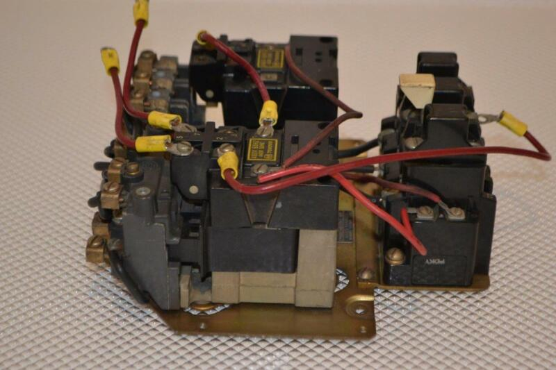 ONE USED ALLEN-BRADLEY STARTER WITH COIL 705X-AOB.