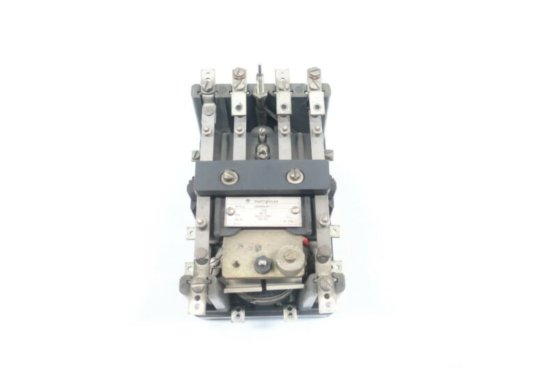 Westinghouse MG-6 289B363A11 Auxiliary Relay 125v-dc