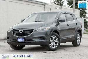 2015 Mazda CX-9 AWD Leather/Sunroof CleanCarfax Serviced Certifi