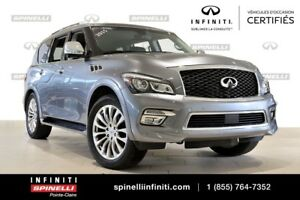 2015 Infiniti QX80 TECH TECHNOLOGY PKG, LOW KM!