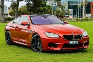 2014 BMW M6 F13M M-DCT Orange 7 Speed Sports Automatic Dual Clutch Coupe