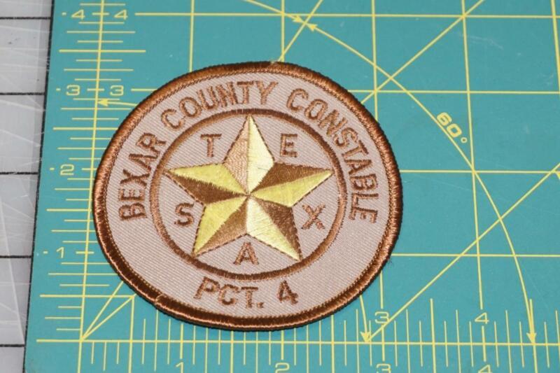 Bexar County Texas Constable PCT. 4 Patch (0039)