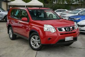 2013 Nissan X-Trail T31 Series V ST 2WD Red 1 Speed Constant Variable Wagon