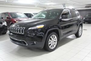 2017 JEEP CHEROKEE LIMITED 4X4 *CUIR/TOIT/NAV/CAMERA RECUL*